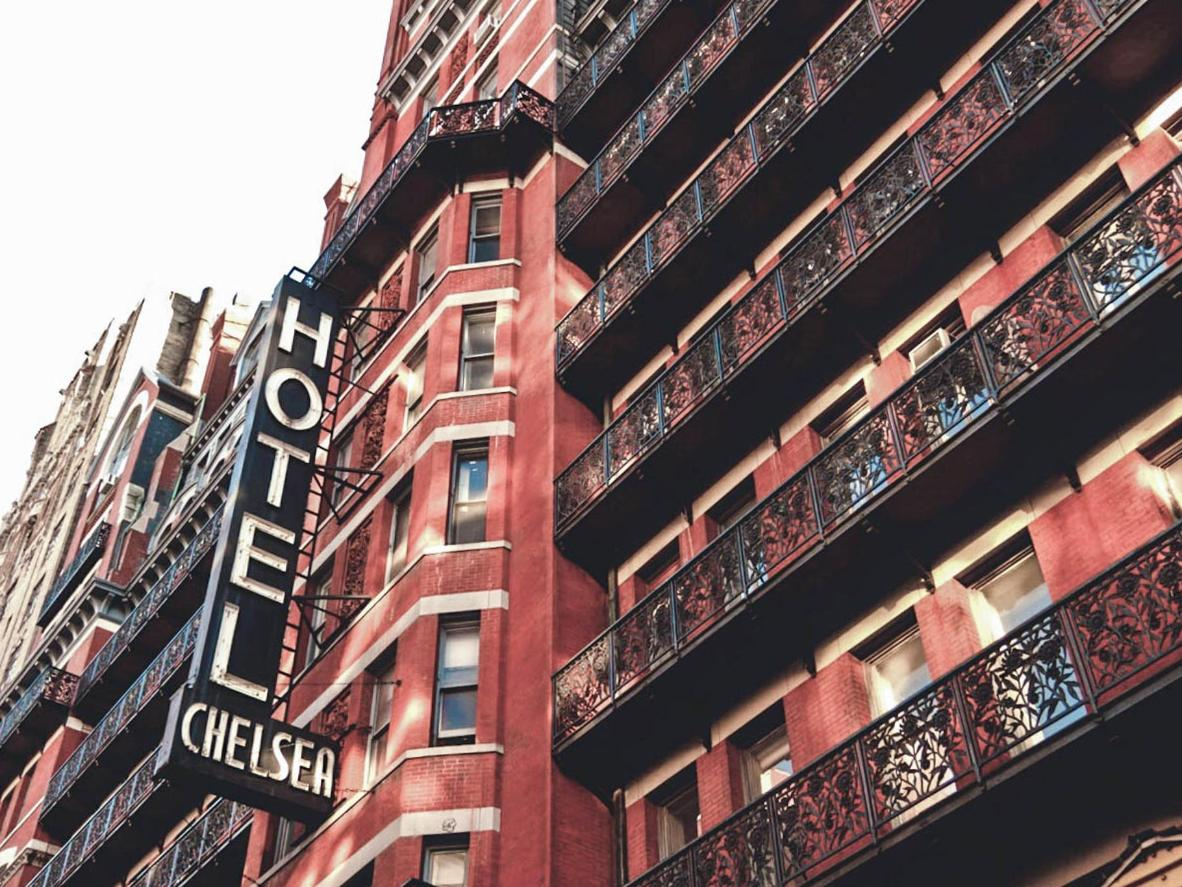 This legendary hotel was home to Bob Dylan, Andy Warhol, Madonna and Joni Mitchell