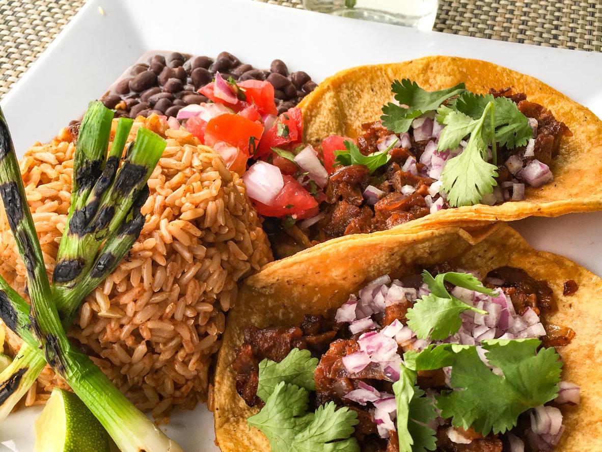 Tuck into tacos at Flore Vegan in LA