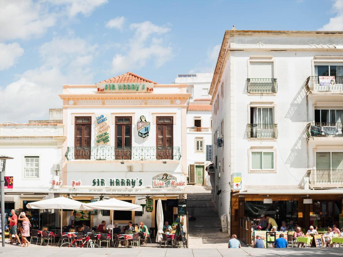 Le quartier de la vieille ville d'Albufeira
