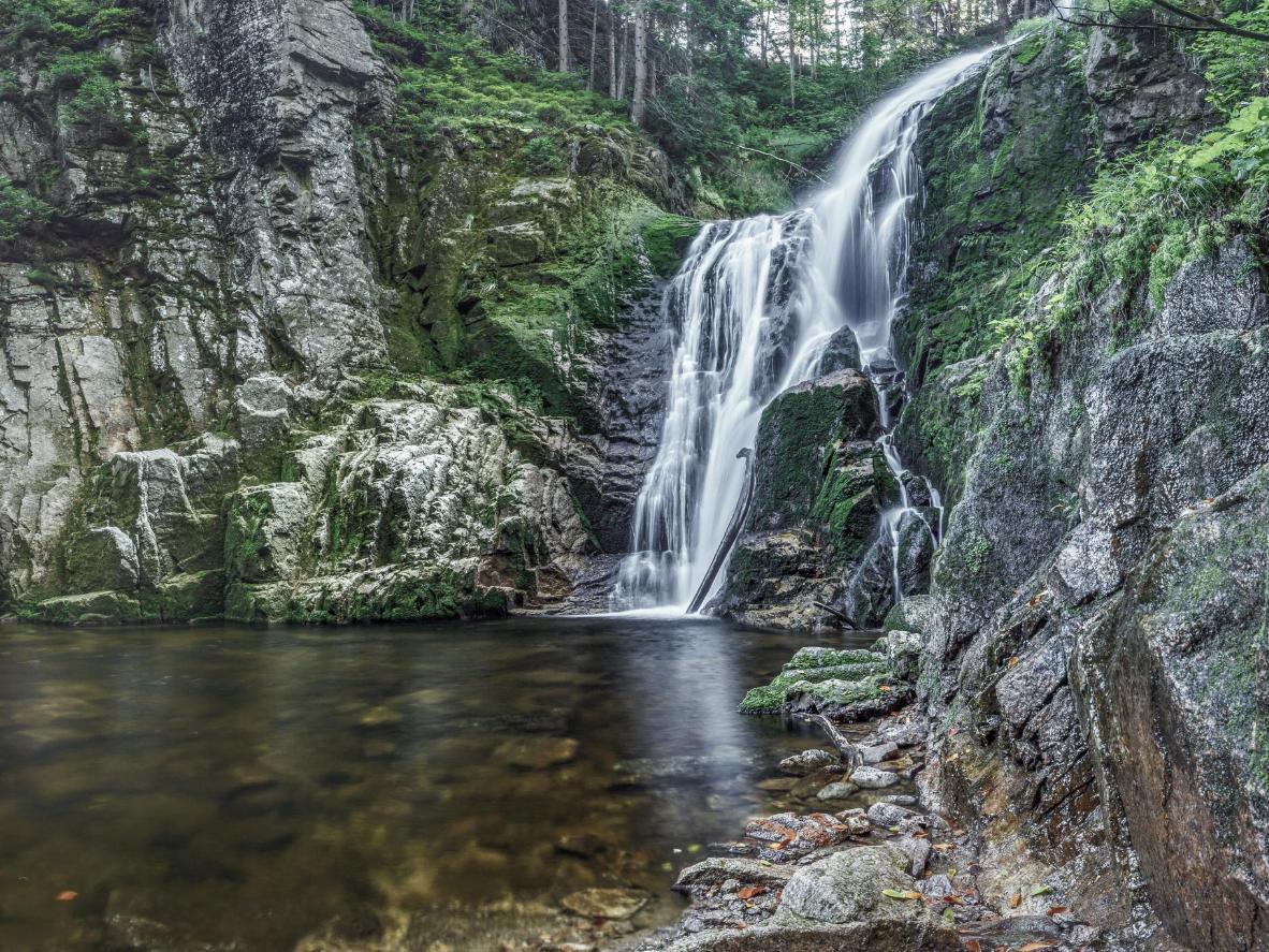 Kamieńczyk Waterfall, Szklarska Poreba