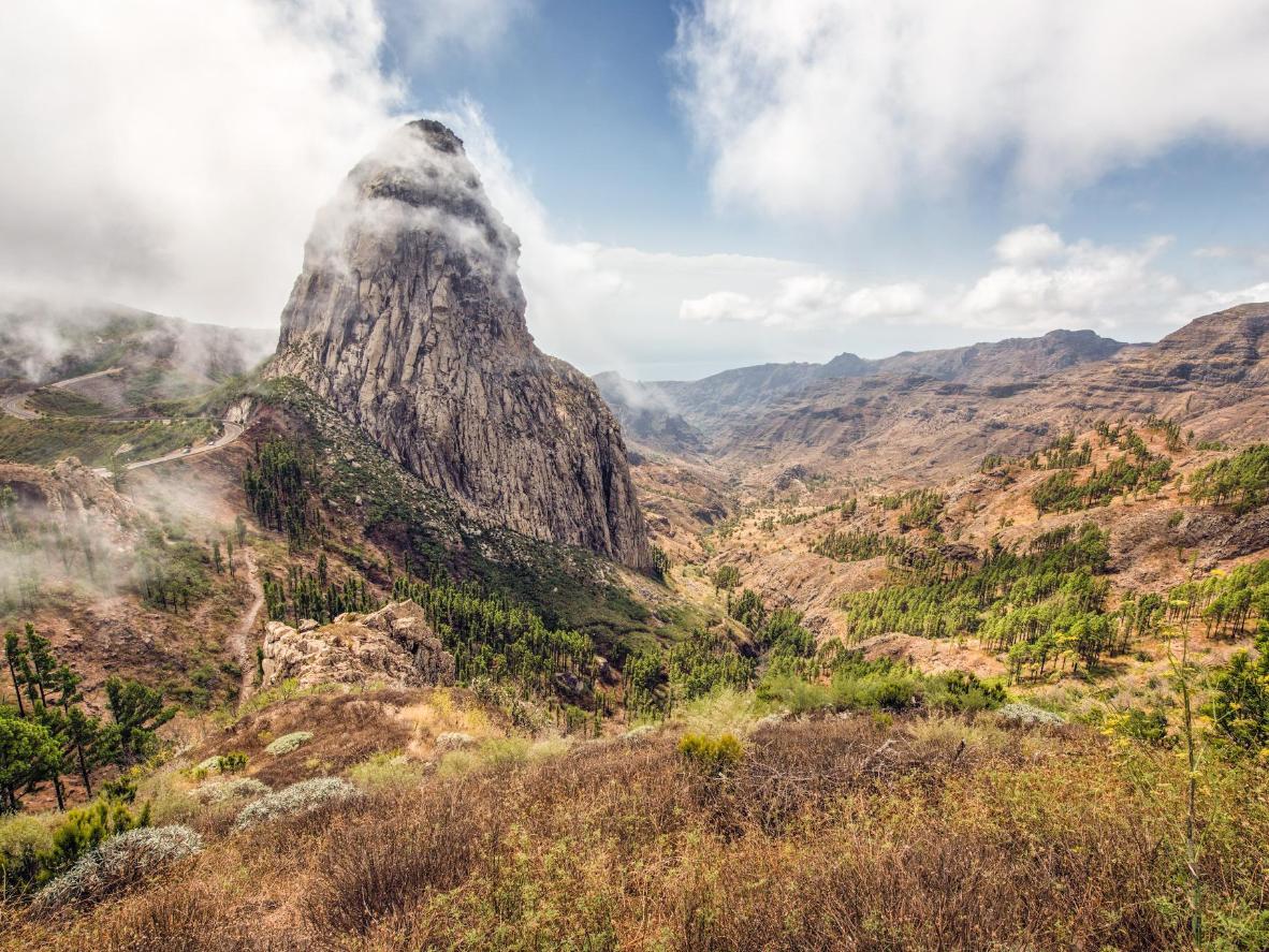 Der Roque de Agando ist ein riesiger vulkanischer Monolith