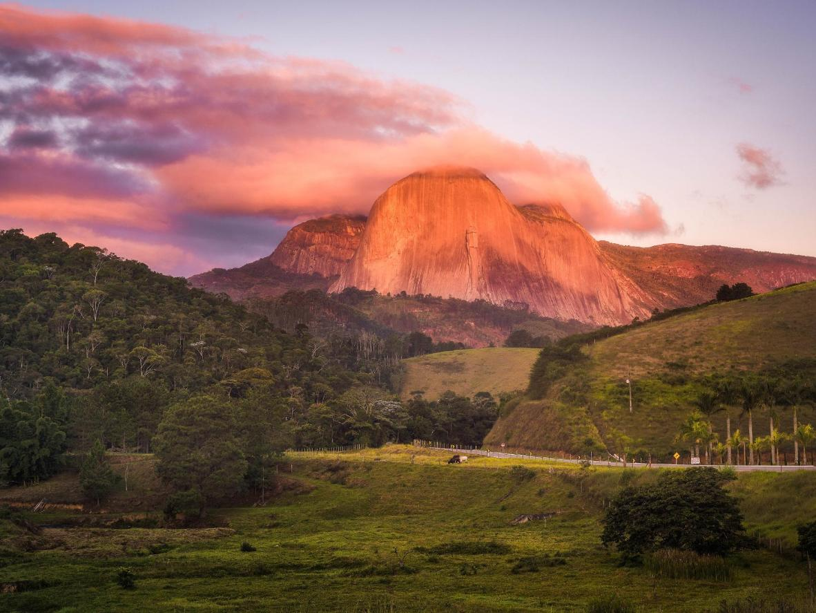 Pedra Azul is a national park filled with mesmerising rocky peaks
