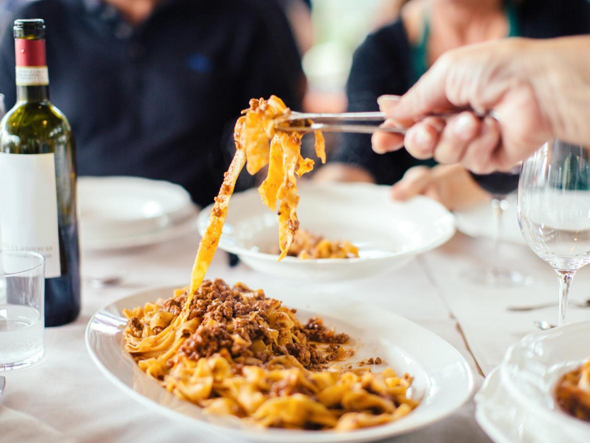 Ne confondez pas ce mets servi partout en Toscane avec les pâtes à la bolognaise