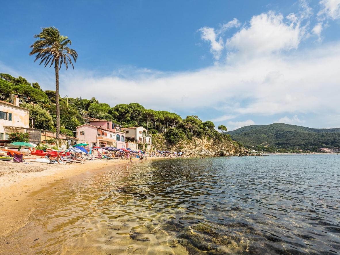 Spiaggia di Forno on Elba