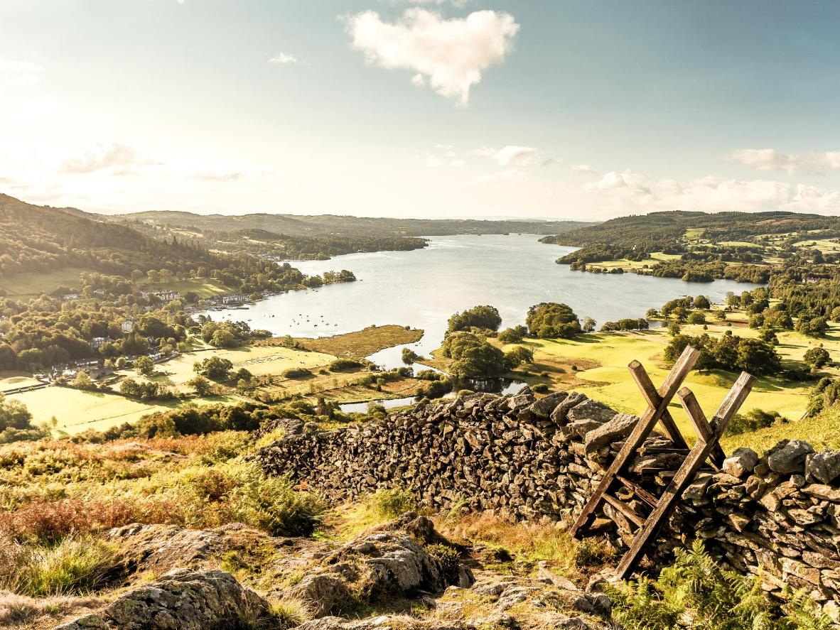Romantic poet, William Wordsworth, was inspired by the landscapes of the Lake District