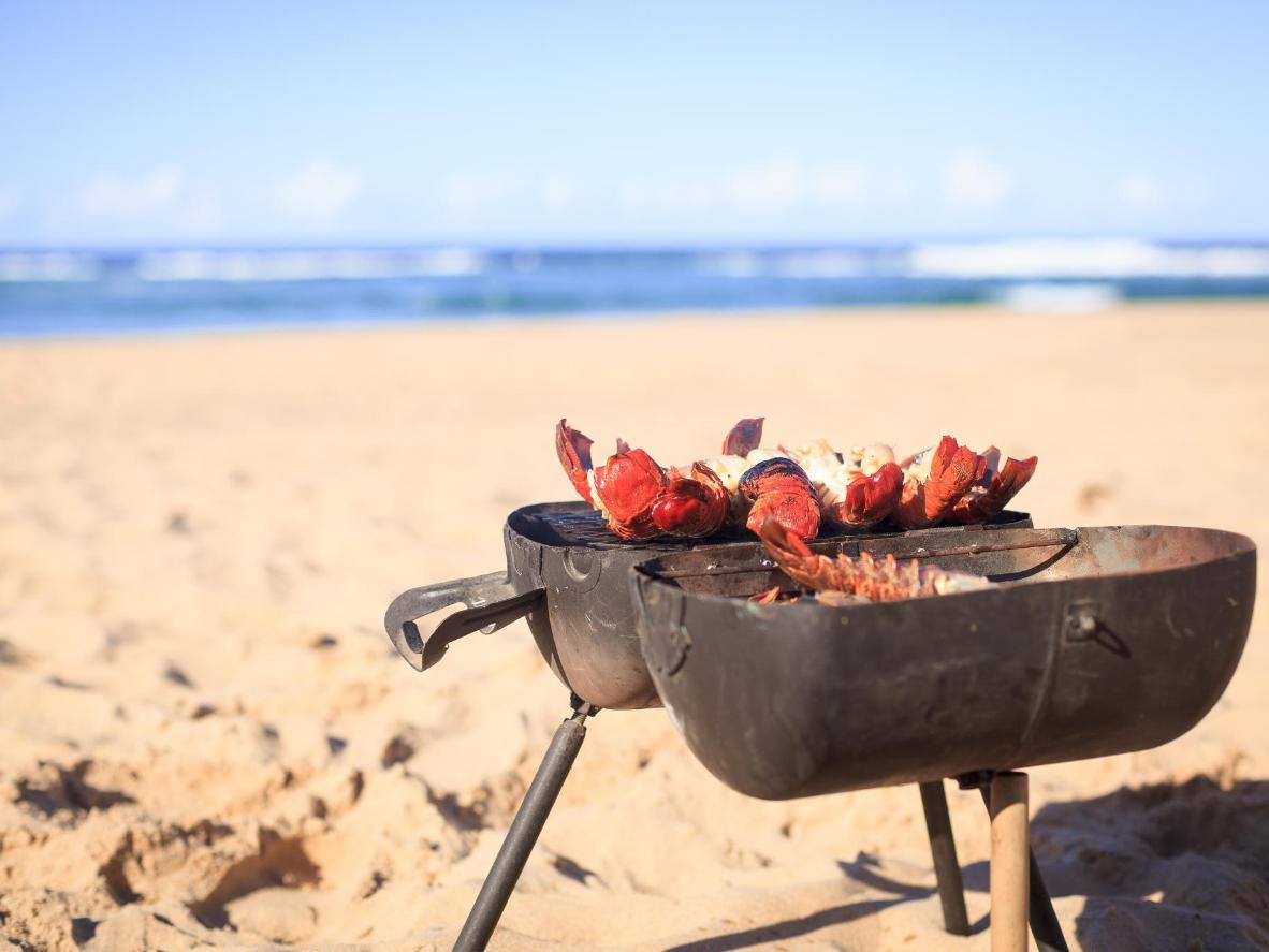Bibi rannas Itomanis laenuta omale grill