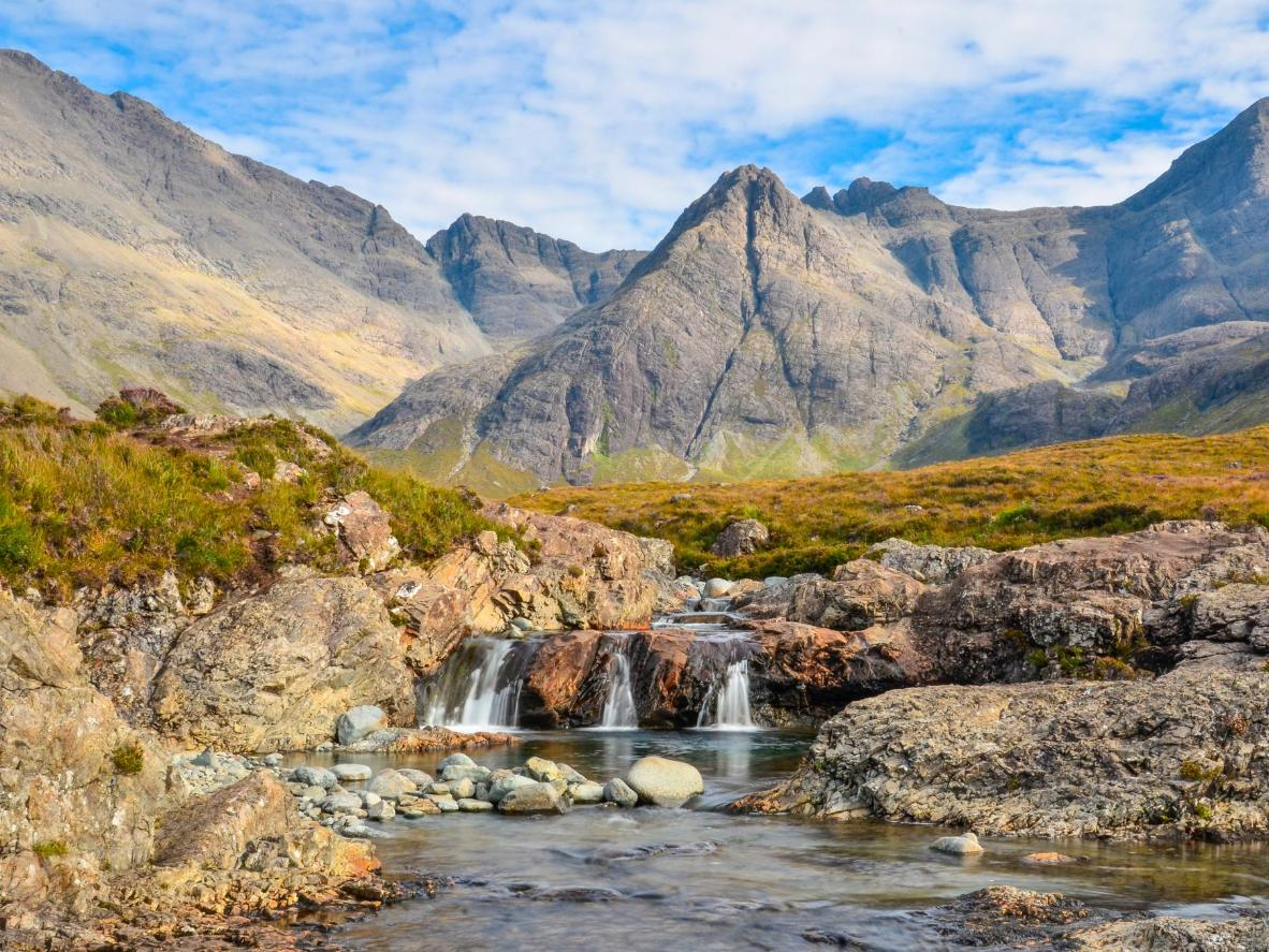 The Fairy Pools look as magical as they sound