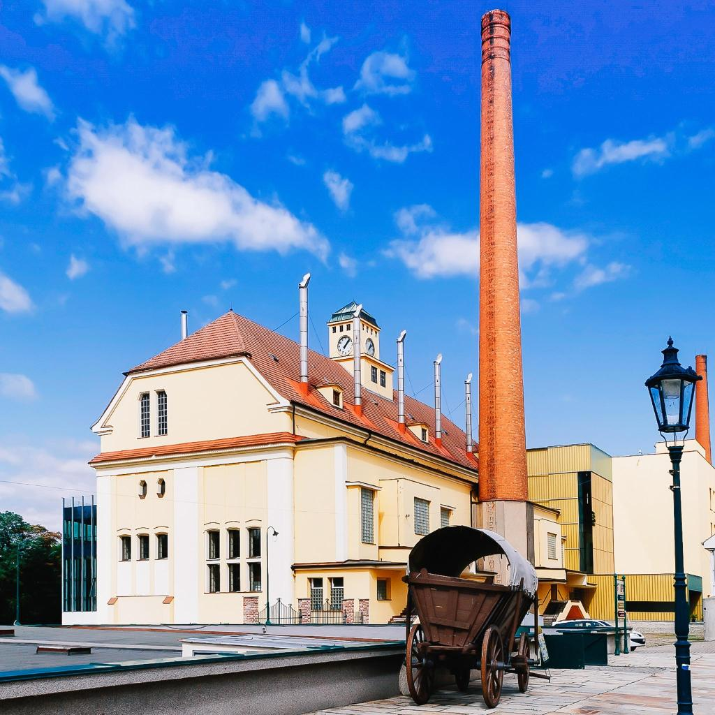 Пивоварня Pilsner Urquell, где был сварен первый пильзнер
