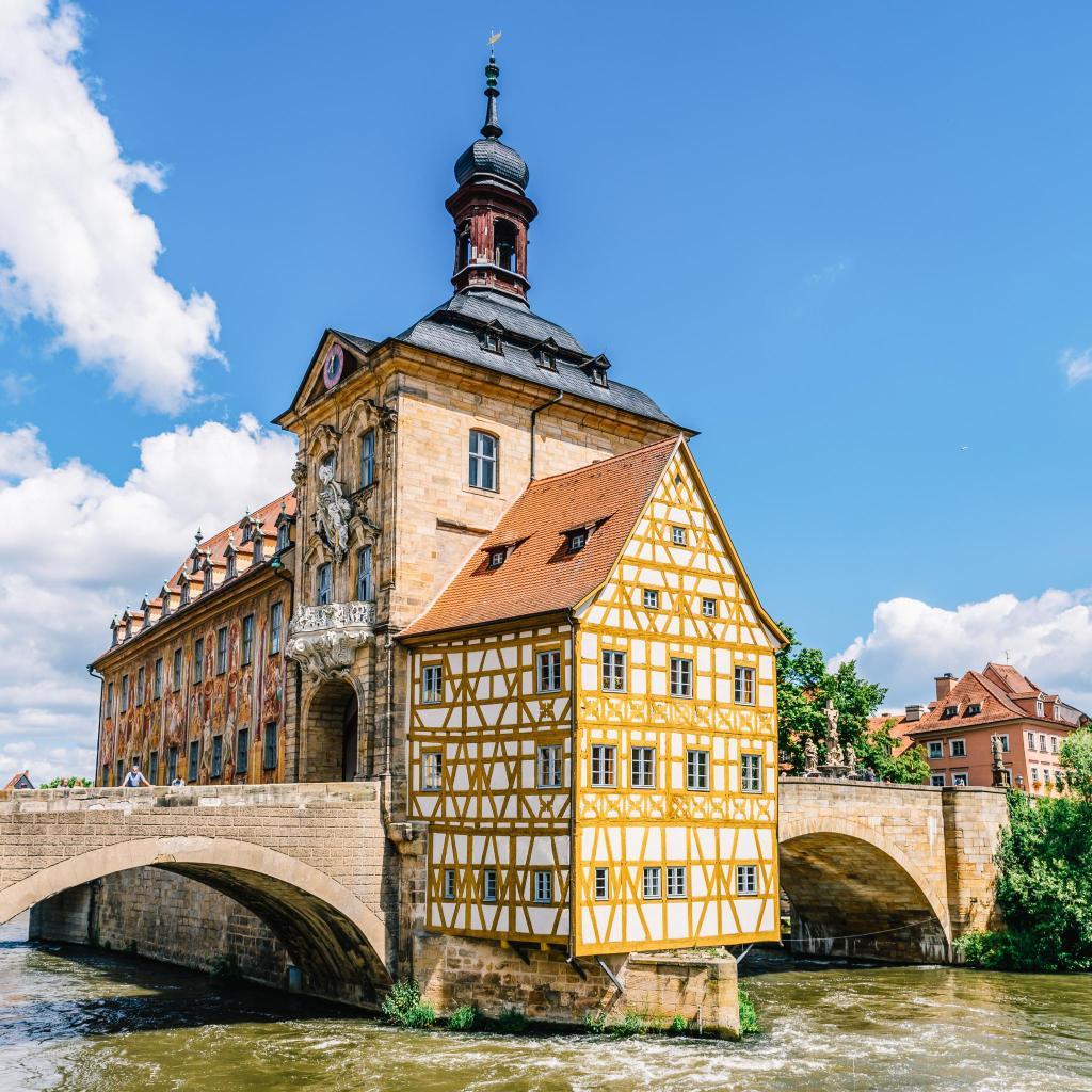 Когда-то в Бамберге насчитывалось более 80 пивоварен