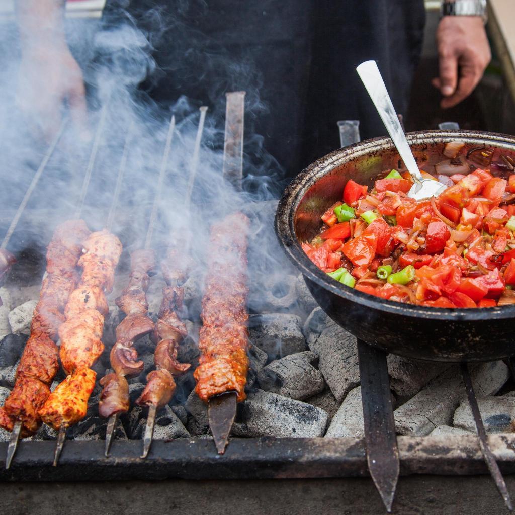 En Gaziantep apuestan por la comida picante y a la brasa