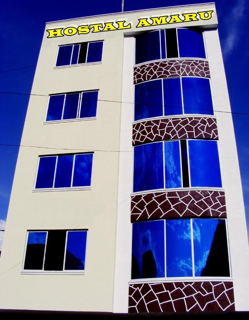 Гостевой дом  Residencial Amaru  - отзывы Booking