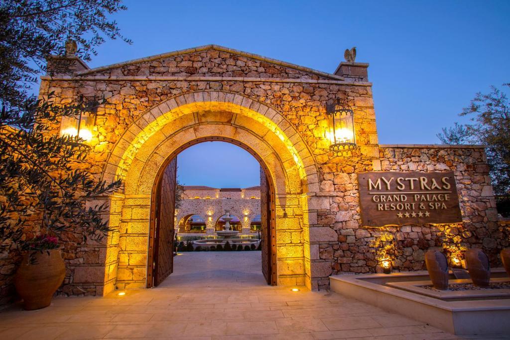 Отель Mystras Grand Palace Resort & Spa - отзывы Booking