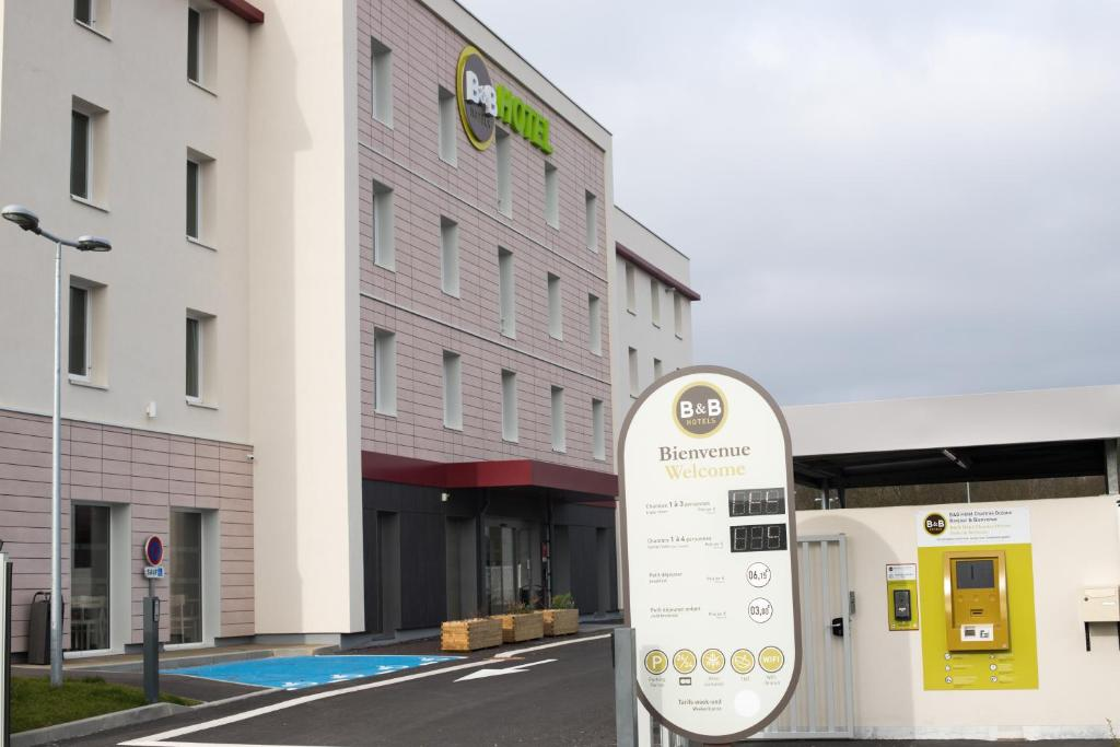 Отель B&B Hotel CHARTRES Oceane - отзывы Booking