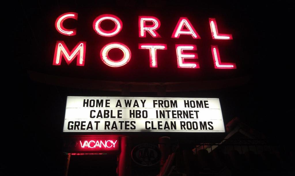 Мотель  Мотель  Coral Motel
