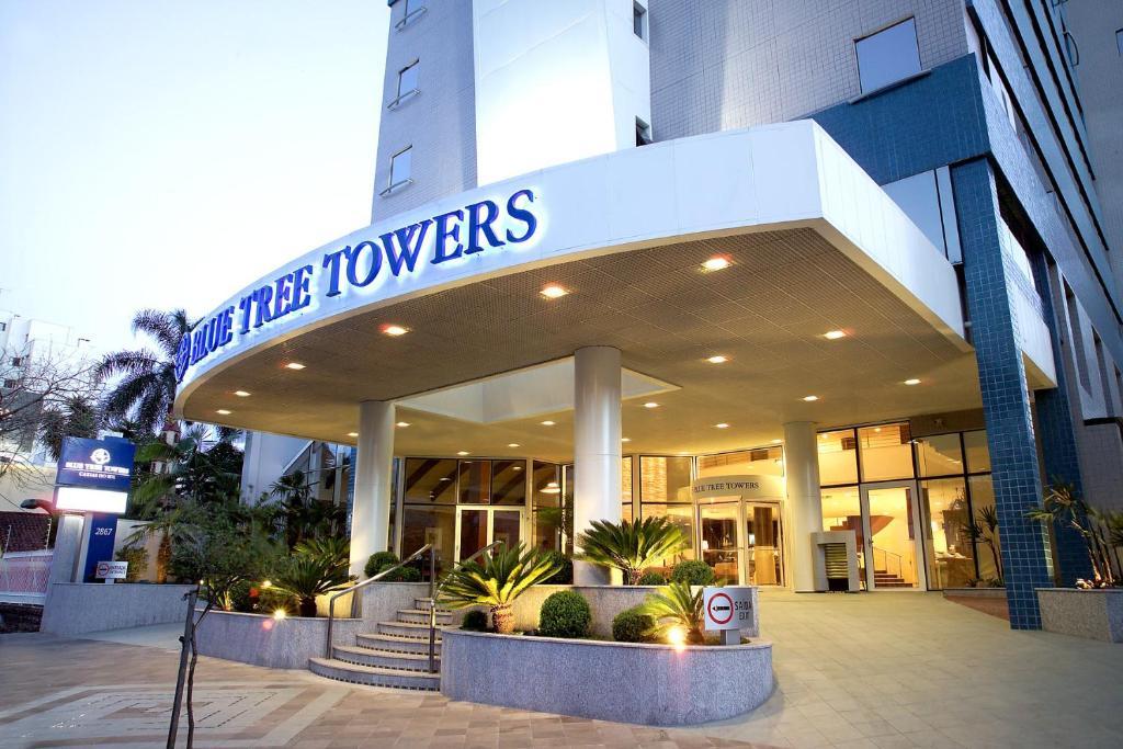 Отель Отель Blue Tree Towers Caxias Do Sul