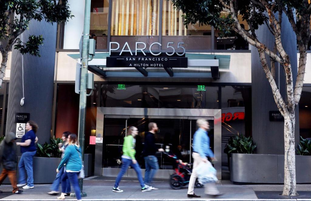 Отель  Hilton Parc 55 San Francisco Union Square  - отзывы Booking