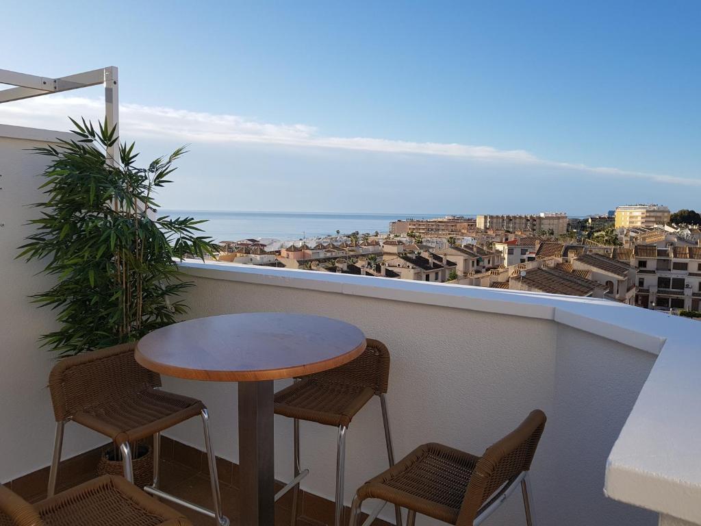 Апартаменты/квартира  Espectacular vista al mar, a 3 minutos de la playa  - отзывы Booking