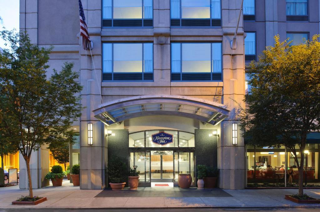 Отель  Hampton Inn Philadelphia Center City-Convention Center  - отзывы Booking