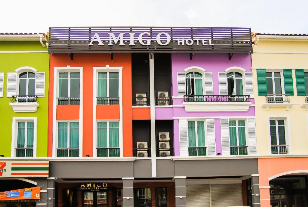 Отель  Amigo Hotel  - отзывы Booking