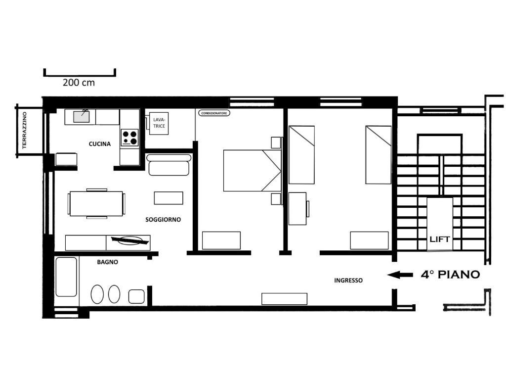 Апартаменты/квартира  Damonte A  - отзывы Booking