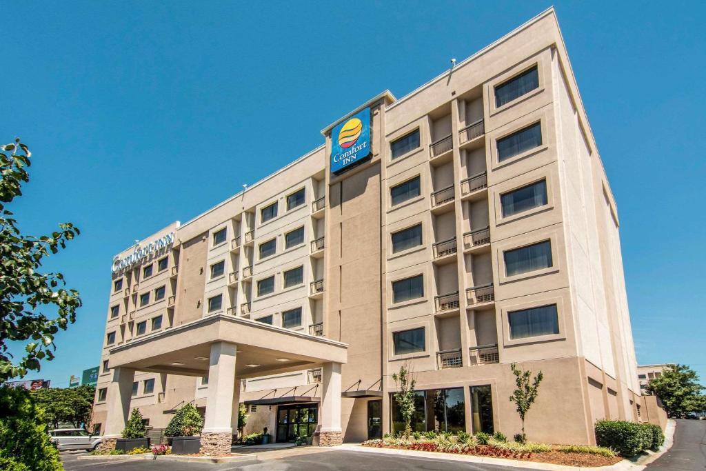 Отель Отель Comfort Inn Downtown Atlanta