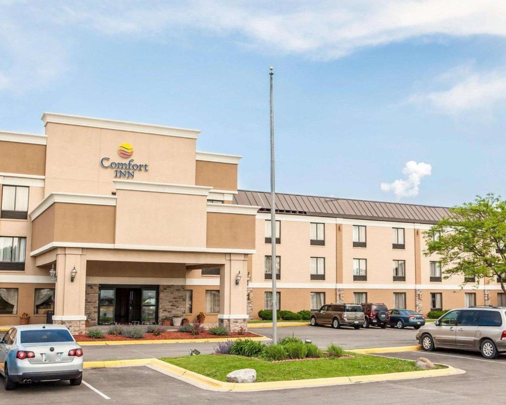 Отель  Comfort Inn Bourbonnais  - отзывы Booking