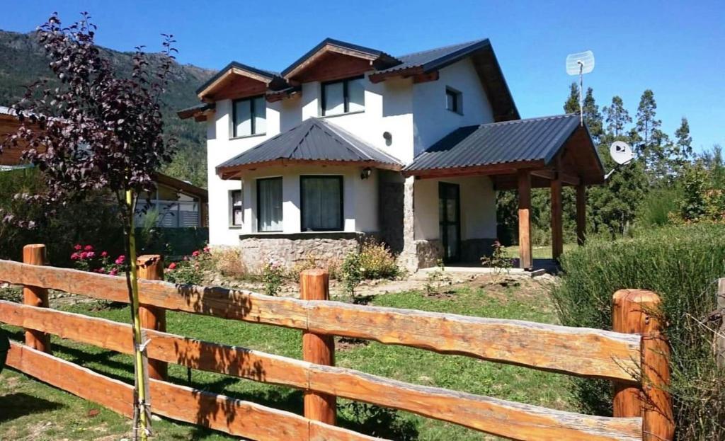 Дом для отпуска Cabaña Lecalau
