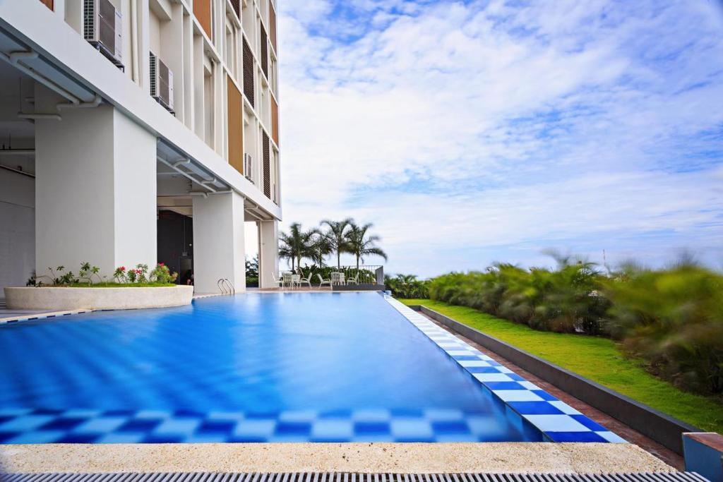 Апартаменты/квартира All In Room FIBR Net W/ Balcony Free Use Gym&pool