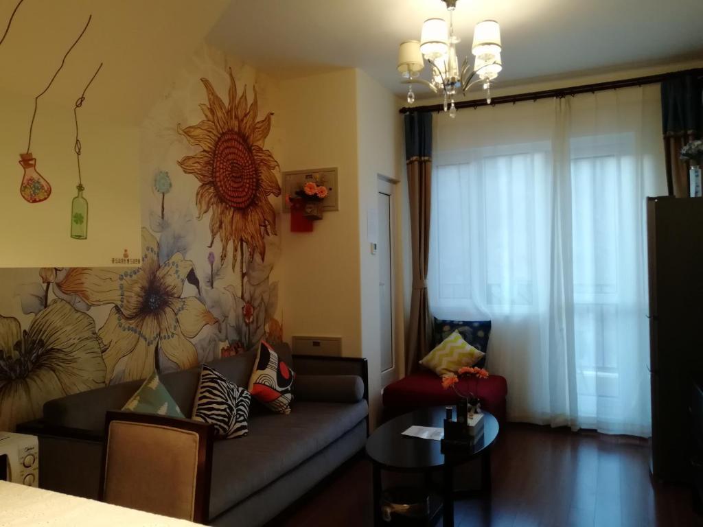 Апартаменты/квартира Gubei Water Town Duplex Two-Bedroom Apartment - отзывы Booking