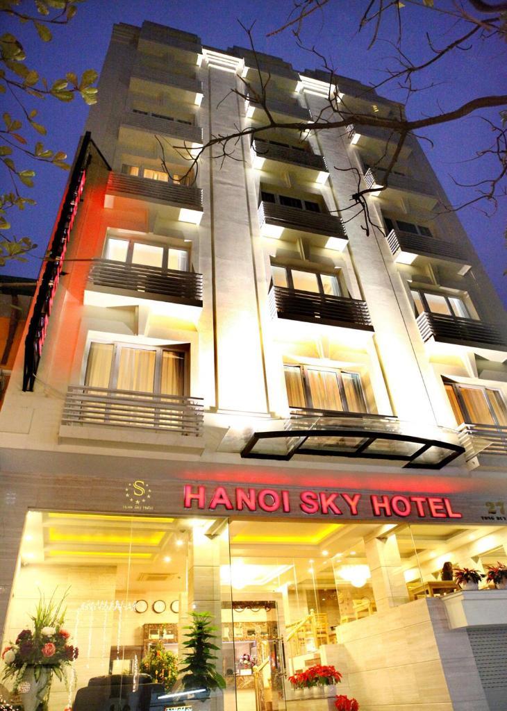 Отель  Отель  Hanoi Sky Hotel