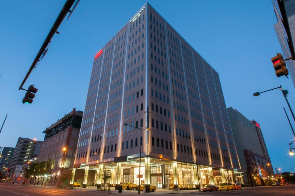 Отель Отель Homewood Suites- Denver Downtown Convention Center