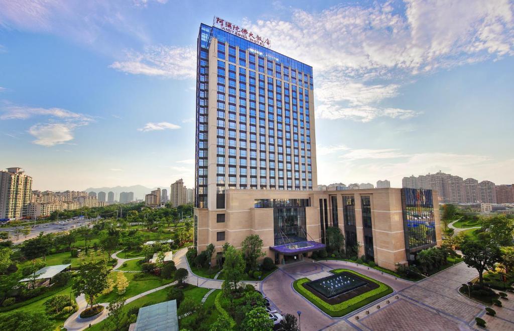 Отель Отель Amitabha Hotel (Fuzhou Pushang)