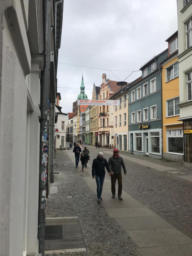 Апартаменты/квартира Altstadt Stralsund Gästewohnung - отзывы Booking