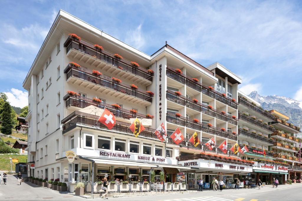 Отель Hotel Kreuz&Post**** Grindelwald - отзывы Booking