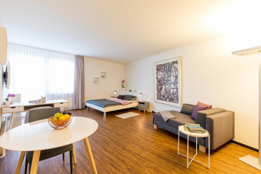 Апарт-отель  Apartmenthaus zum Trillen Basel City Center  - отзывы Booking