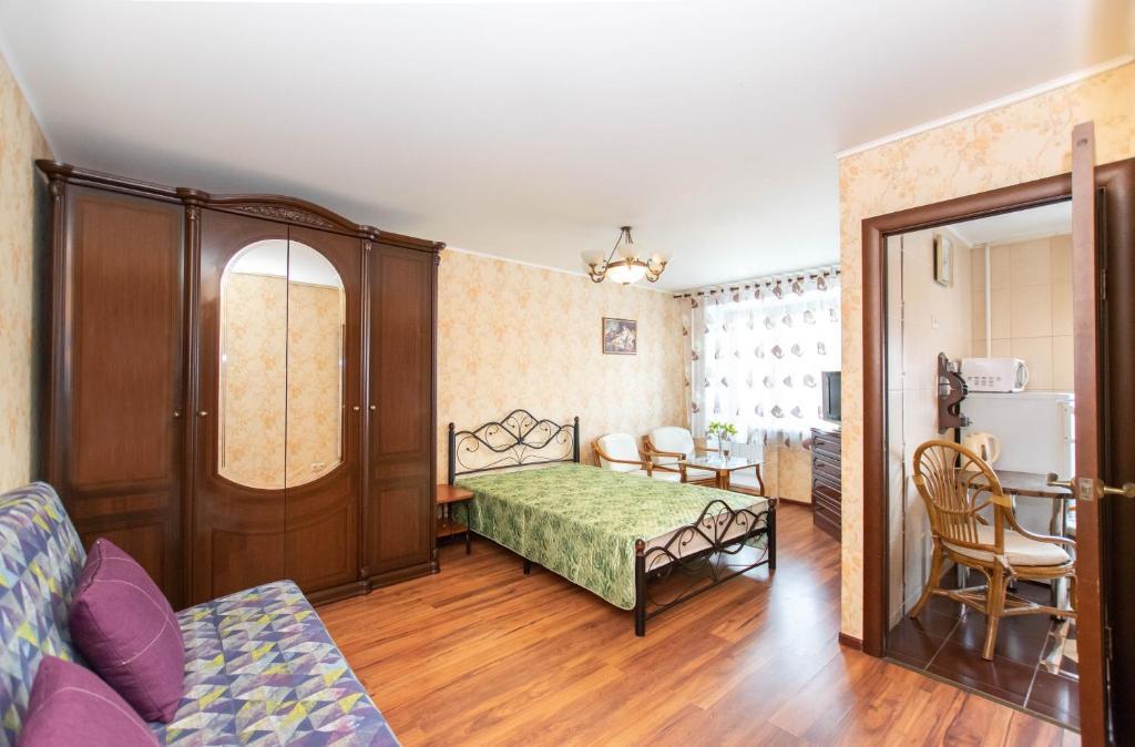 Апартаменты/квартира  Квартира-люкс в центре Перми  - отзывы Booking