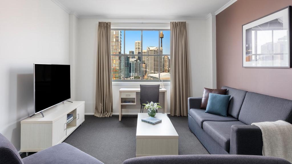 Апарт-отель Oaks Sydney Goldsbrough Suites - отзывы Booking