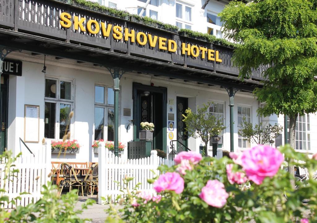 Отель  Отель  Skovshoved Hotel