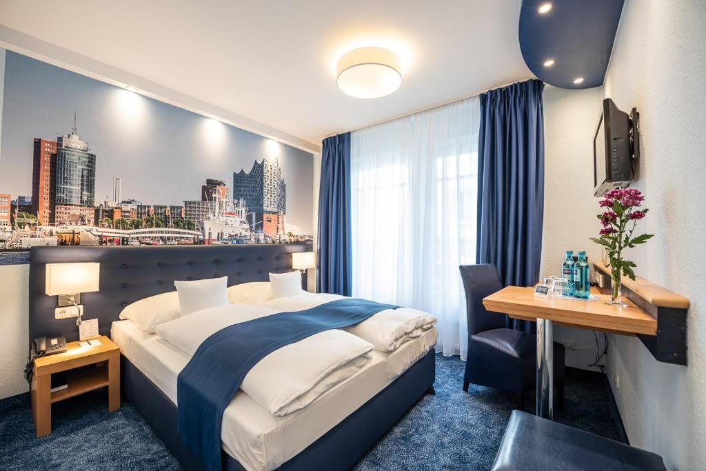 Отель  Hotel Hanseport Hamburg  - отзывы Booking