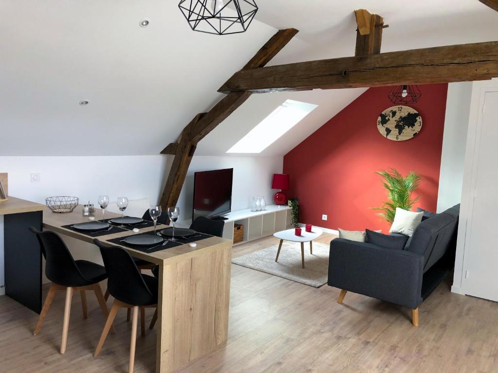 Апартаменты/квартира  Splendide loft cosy et authentique  - отзывы Booking