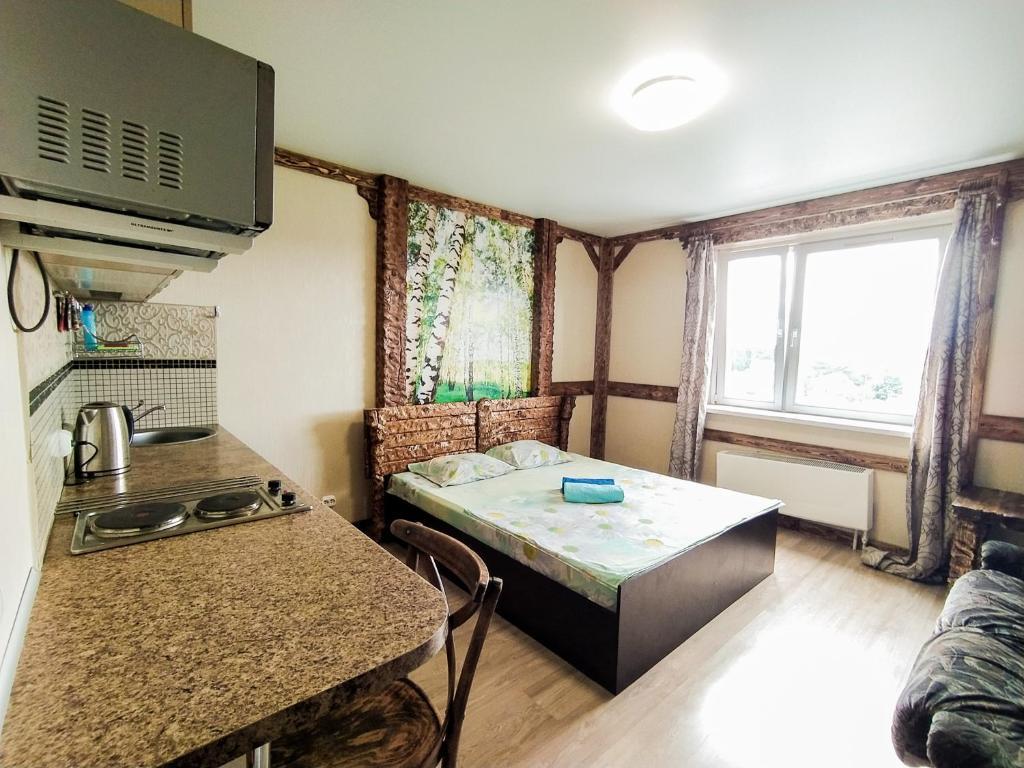 Апартаменты/квартира Студия в близи Домодедово, Леруа - отзывы Booking