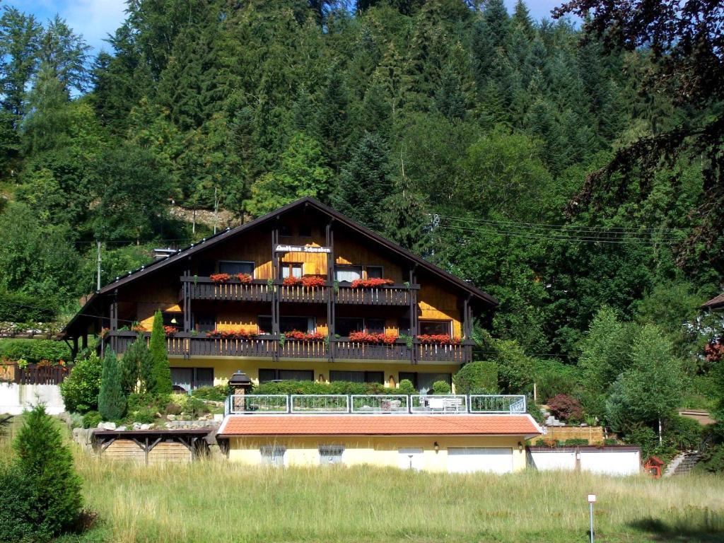 Гостевой дом Landhaus Schwaben - отзывы Booking