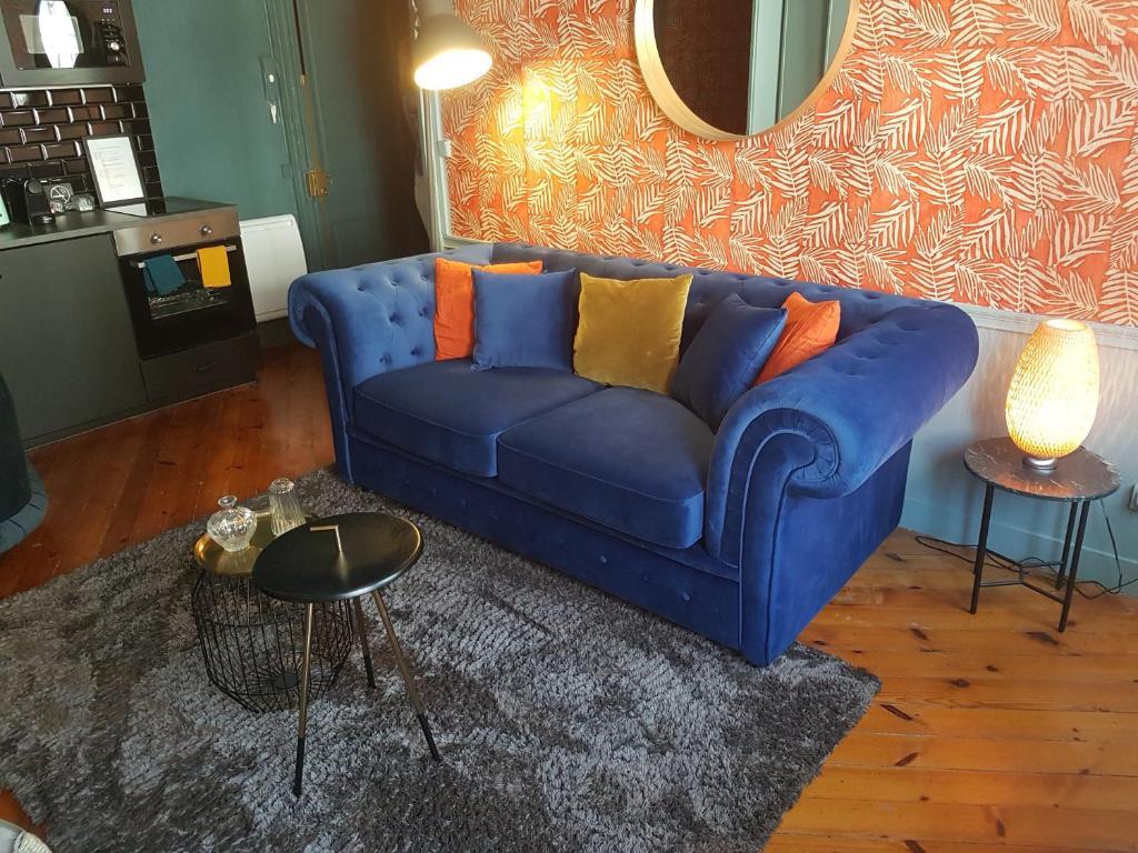Апартаменты/квартира  Le repaire de Rougemare déco soignée et accueil chaleureux  - отзывы Booking