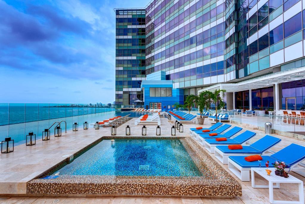 Отель  Отель  Hotel InterContinental Cartagena, An IHG Hotel