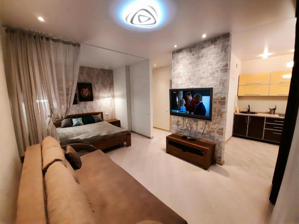Апартаменты/квартира  Классная квартира в новом жилом комплексе Жуль Верн  - отзывы Booking