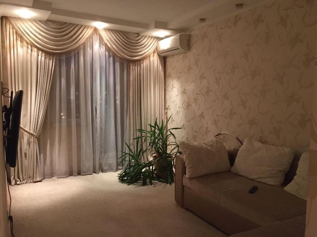 Апартаменты/квартира  Апартаменты у ТРЦ «Космос»  - отзывы Booking