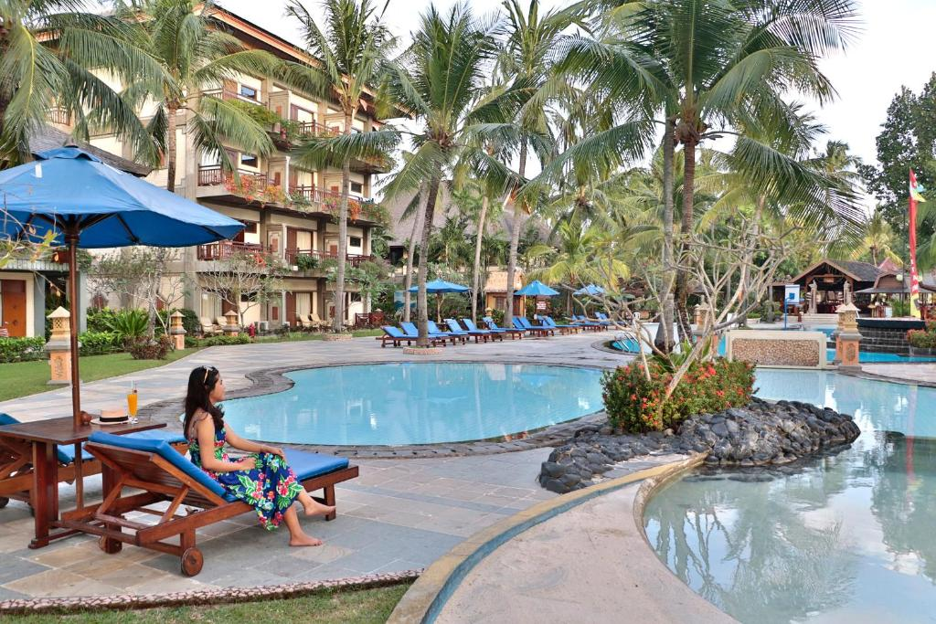 Курортный отель  Jayakarta Hotel Lombok  - отзывы Booking