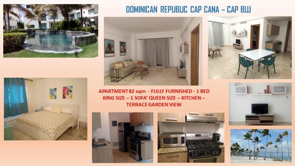 Апартаменты/квартира  Cap Cana Cap Blue Green  - отзывы Booking