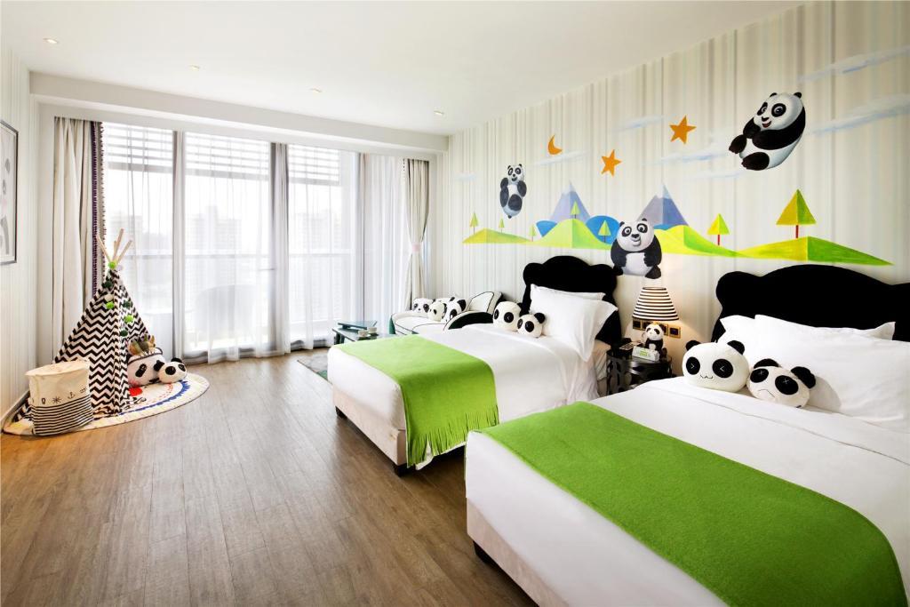 Отель  Mangrove Tree Resort World Sanya Bay -Elader Palm Tower  - отзывы Booking