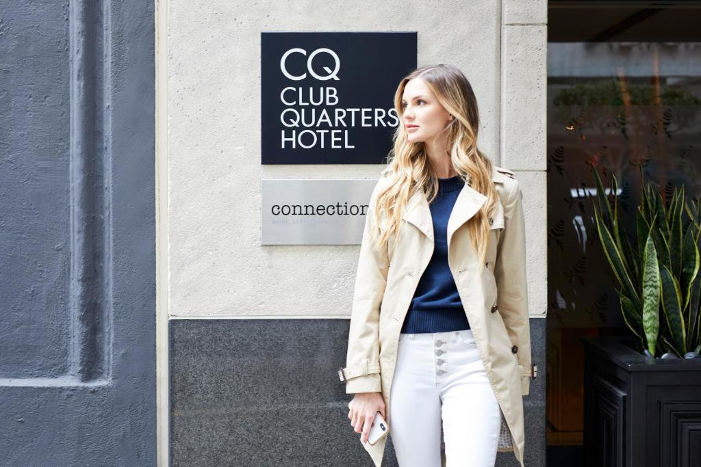 Отель  Отель  Club Quarters Hotel In San Francisco